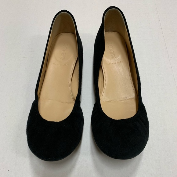 J. Crew Shoes - Like new suede flats